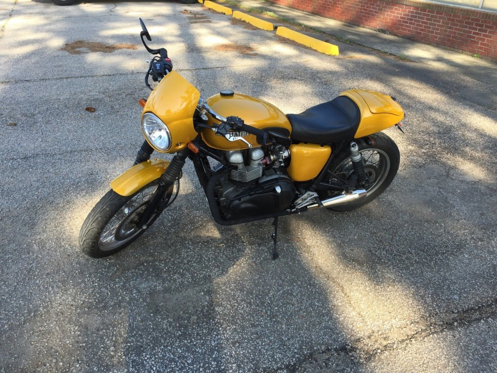 2002 Triumph Bonneville Custom 904 big bore