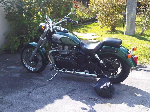 2005 Triumph Bonneville America British Racing Green for sale