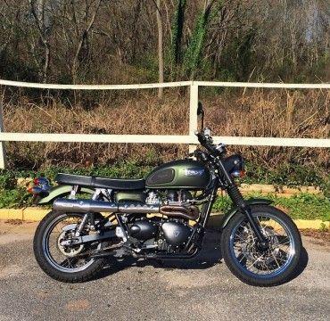2009 Triumph Bonneville Scrambler for sale