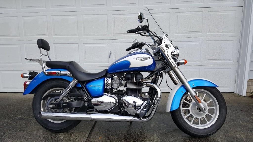 2012 Triumph Bonneville America Motorcycle