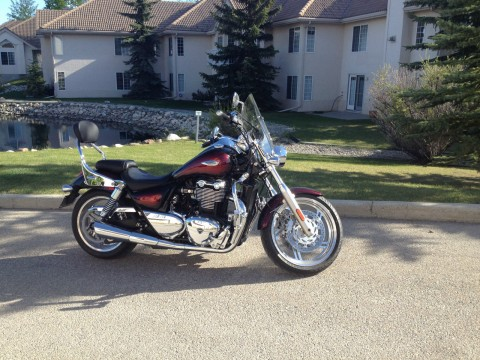 "2013 Triumph Thunderbird ""Red Haze"" for sale"