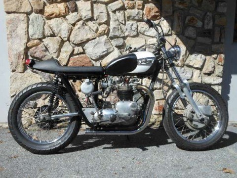 1969 Triumph Bonneville Custom 750 for sale