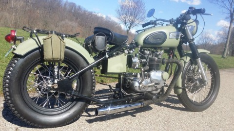 1969 Triumph Tiger T100 Competition for sale
