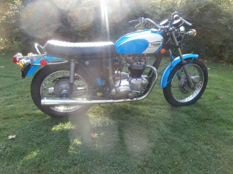 1971 Triumph Tiger 650 TR6R for sale