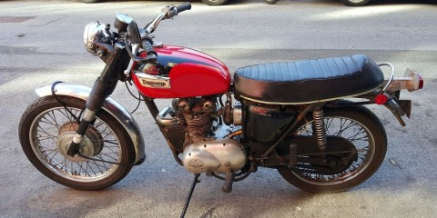 1971 Triumph Trophy T100C for sale