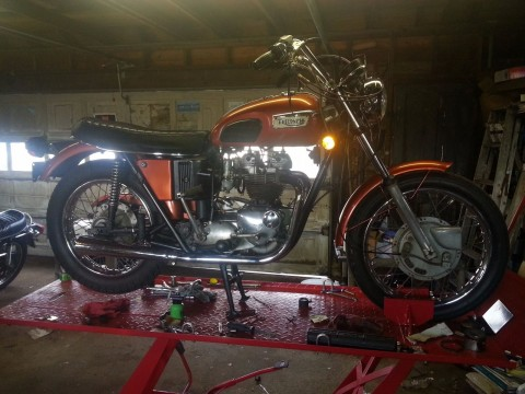 1972 Triumph Bonneville T120 V for sale