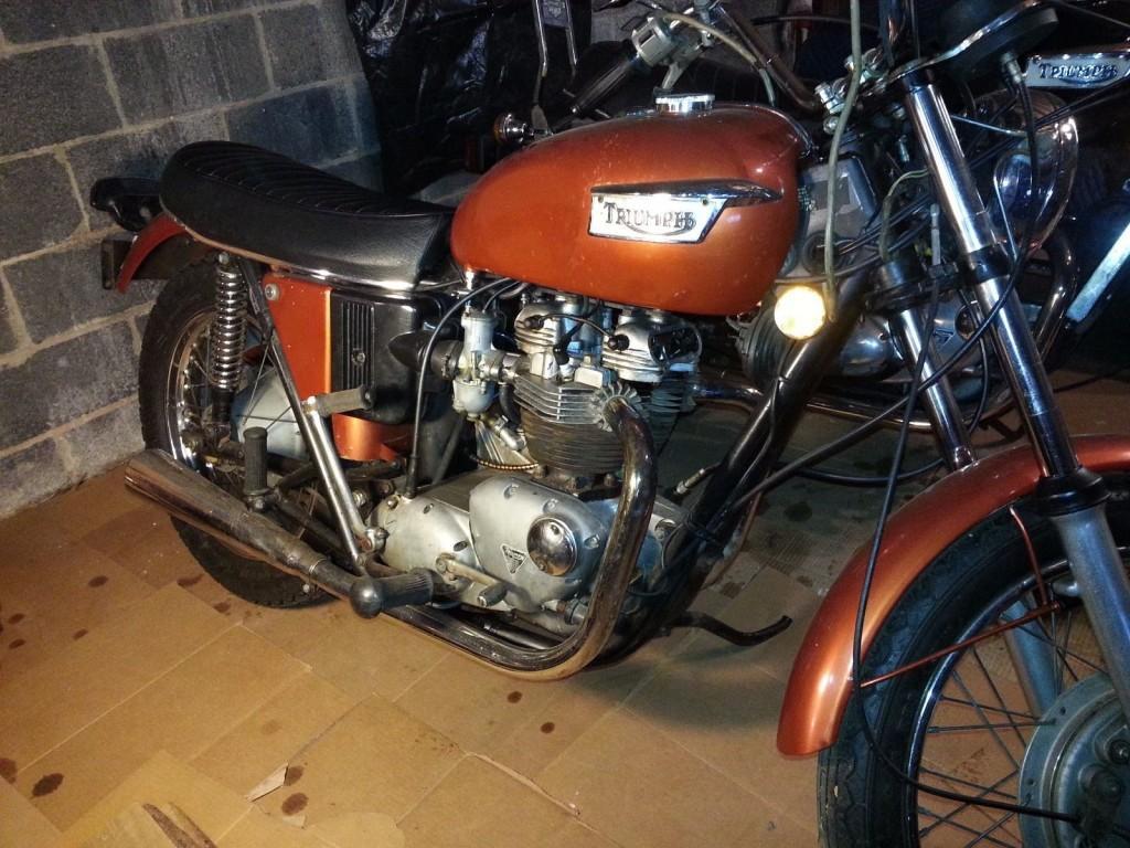 1972 Triumph Bonneville T120 V