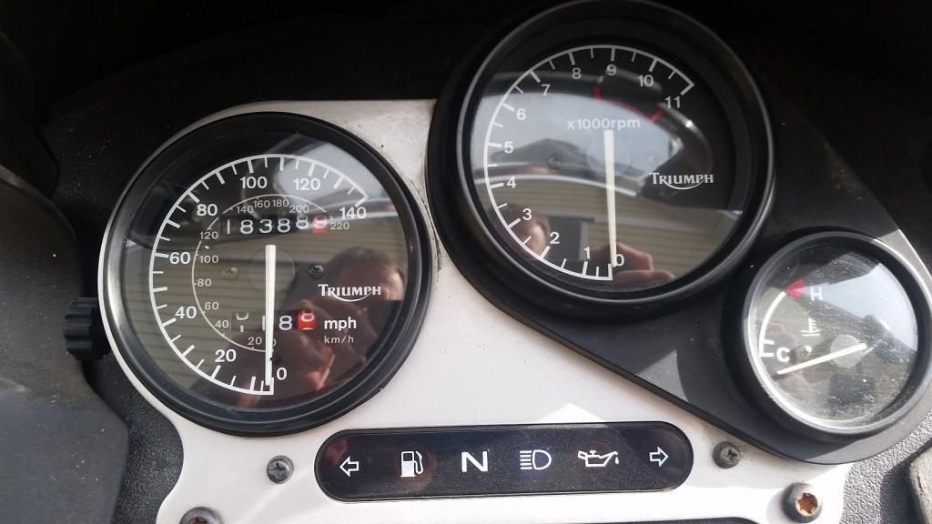 "1996 Triumph Tiger 900 ""Steamer"""