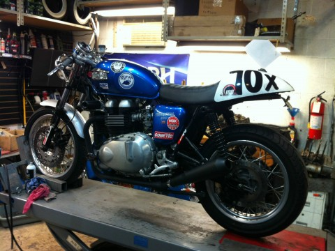 2005 Triumph Thruxton Cup Race bike for sale
