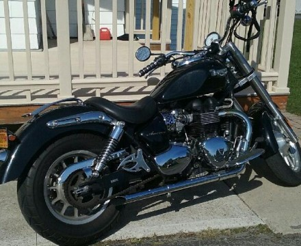 2007 Triumph America 865cc for sale