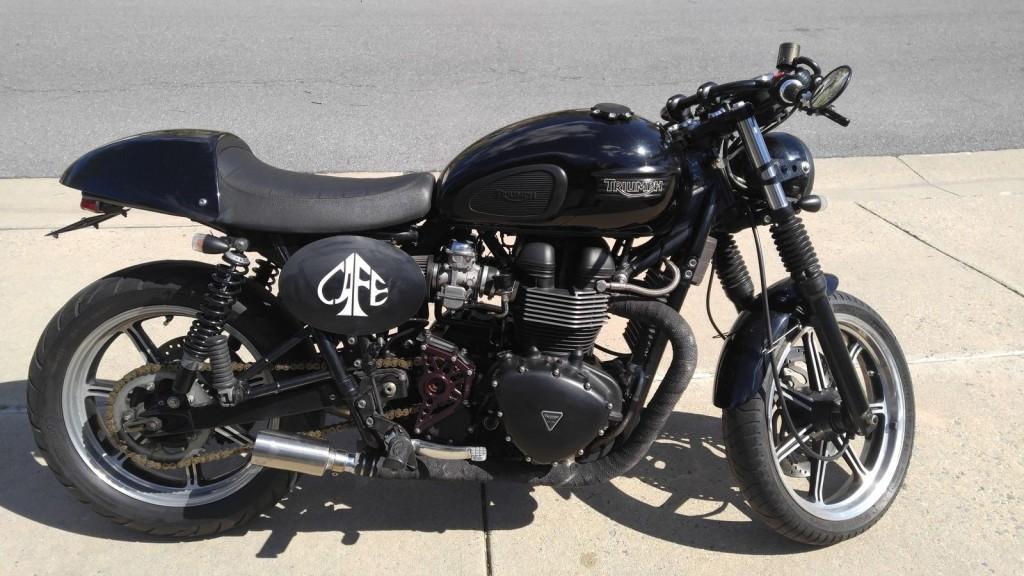 2010 Triumph Bonneville T100 Custom Cafe