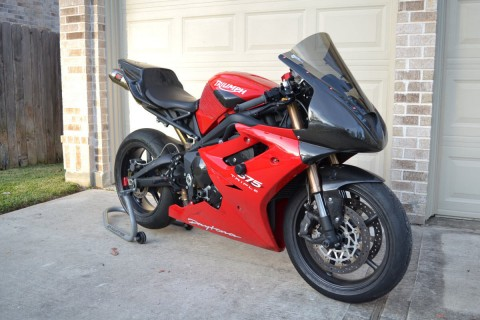 2011 Triumph Daytona 675 Track or Race Bike for sale