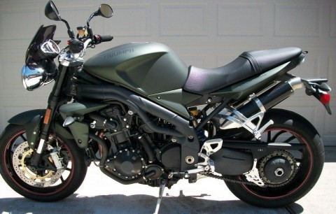 2011 Triumph Speed Triple. Special Editon for sale