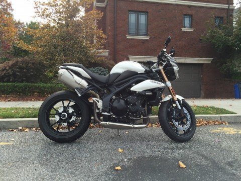 2012 Triumph Speed Triple 1050 for sale