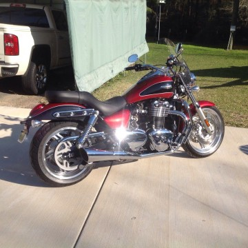 2012 Triumph Thunderbird for sale