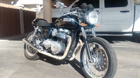 2013 Triumph Thruxton 900 for sale