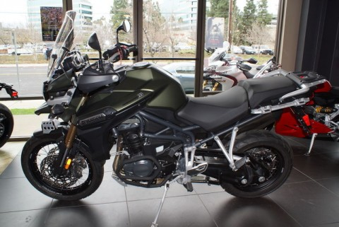2014 Triumph Tiger Explorer XC for sale