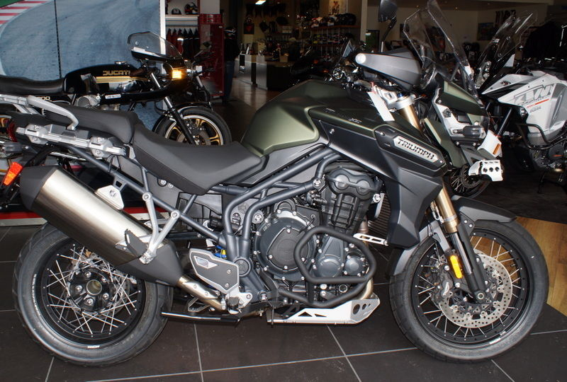 2014 Triumph Tiger Explorer XC