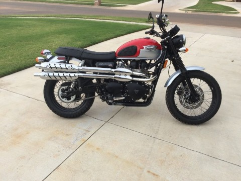 2015 Triumph Scramber for sale