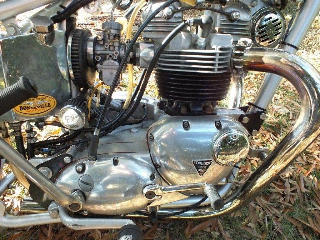 1973 Triumph Bonneville 750 T140 Bobber