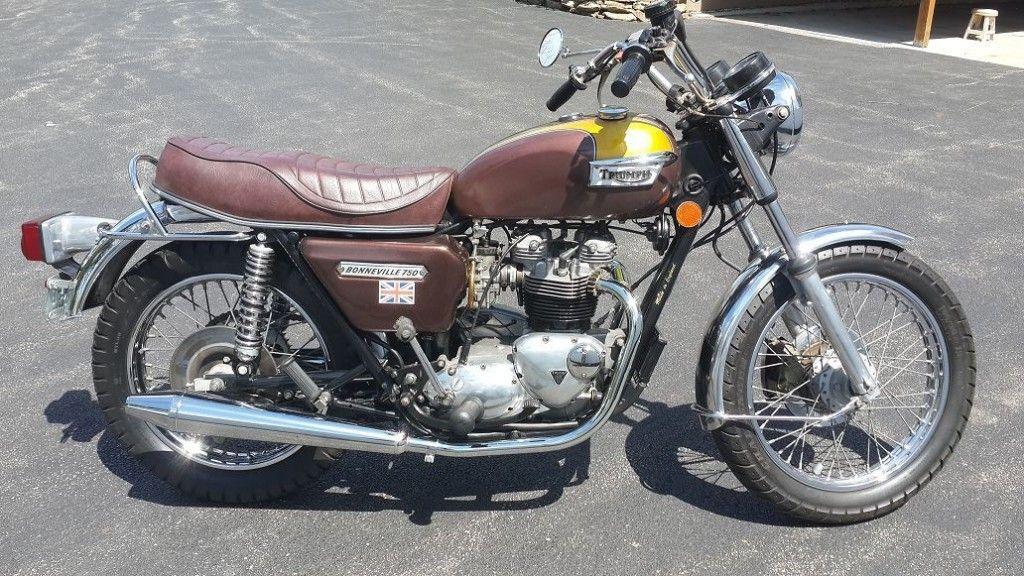 1978 Triumph Bonneville T140E