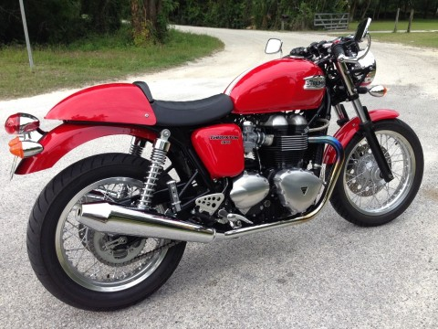 2012 Triumph Thruxton for sale