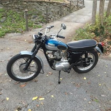 1962 Triumph T100 SC for sale