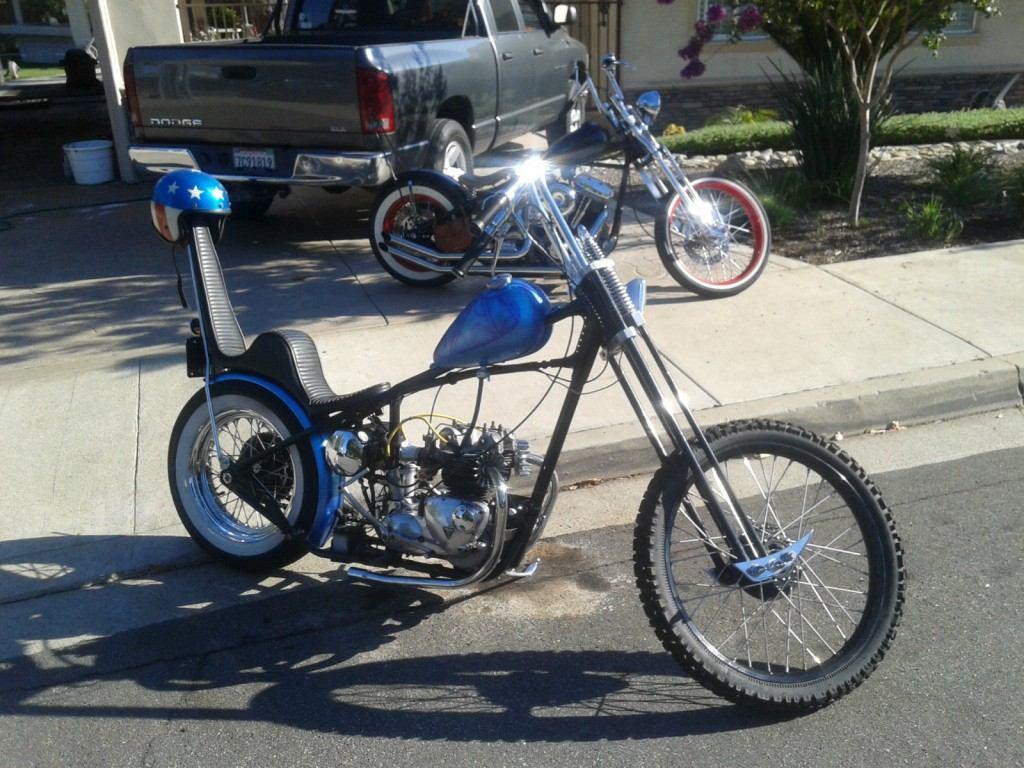 1963 Triumph T100 Classic Chopper Rat Bike