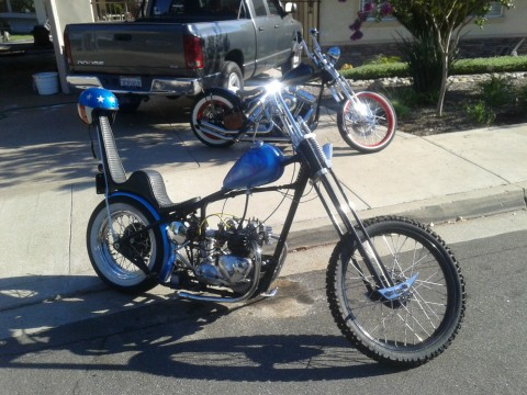 1963 Triumph T100 Classic Chopper Rat Bike for sale