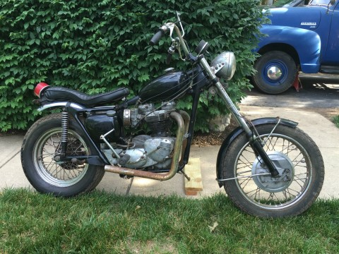1966 Triumph Bonneville TR6C 650cc Chopper Custom for sale