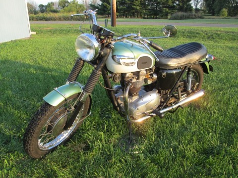 1967 Triumph Tiger 650 for sale