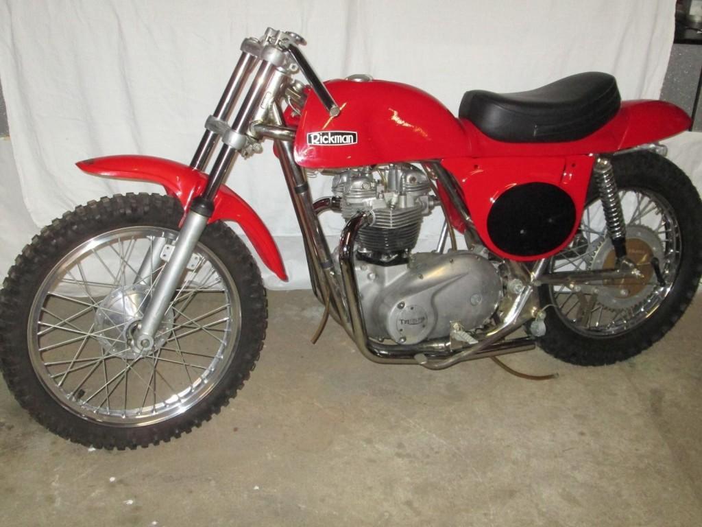 1974 Rickman/Triumph 650 Meisse Scrambler Roller