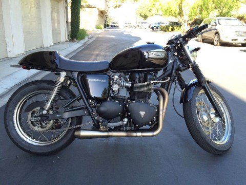 2006 Triumph Bonneville Custom Cafe Racer for sale