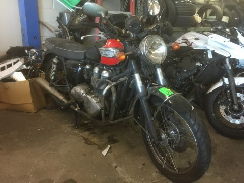 2007 Triumph Bonneville T100 for sale