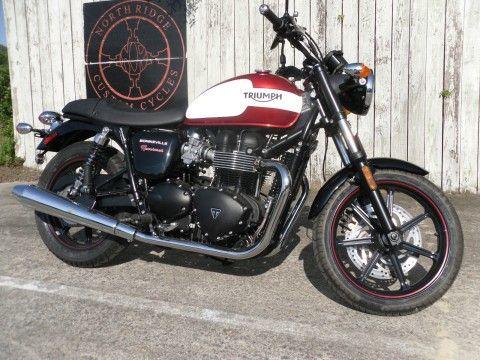 2015 Triumph Bonneville for sale