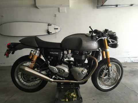 2016 Triumph Thruxton R for sale