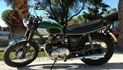 1970 Triumph Trophy for sale