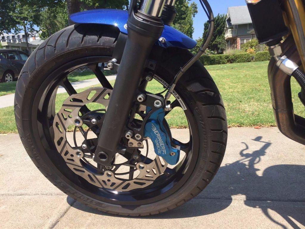 2016 Triumph Bonneville Custom Build Street Tracker