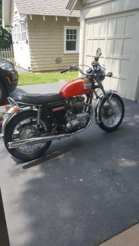 All original low mileage 1973 Triumph Bonneville 750 for sale