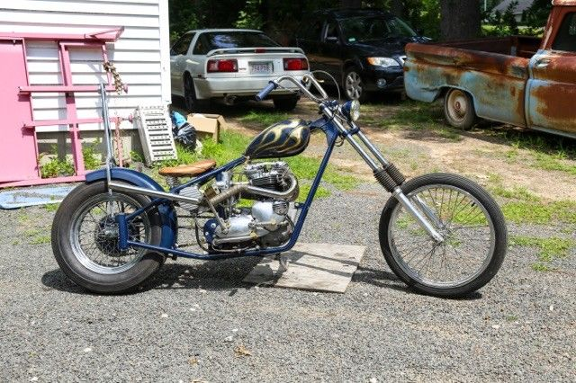 1973 Triumph Tiger 750 Chopper
