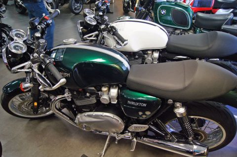 2016 Triumph Thruxton 1200 Competition Green for sale