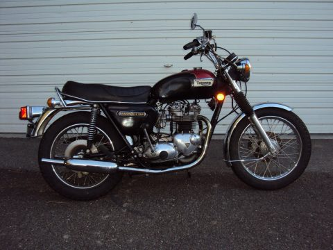 Classic 1978 Triumph Bonneville T140 with only 9600 miles for sale
