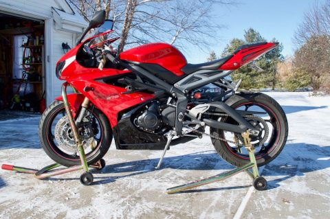 Very Clean 2015 Triumph Daytona for sale