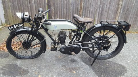 Very nice clean 1927 Triumph Model N for sale