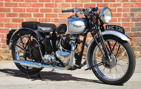 1939 Triumph Tiger – rides perfectly! for sale