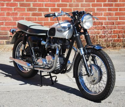 NICE 1966 Triumph Bonneville for sale