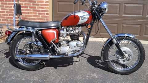 NICE 1969 Triumph Bonneville for sale