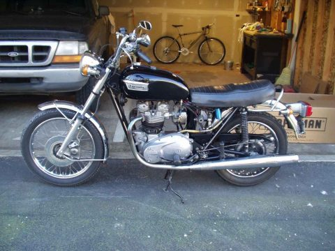 NICE 1973 Triumph Tiger for sale