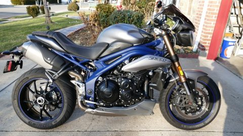 GREAT 2013 Triumph Speed Triple for sale