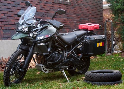 GREAT 2016 Triumph Tiger for sale
